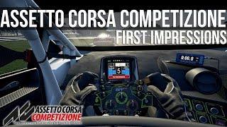 Assetto Corsa Competizione - My First Impressions