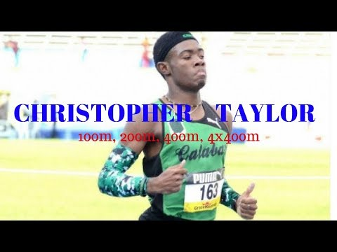Christopher Taylor - New Usain Bolt - Sprint Sensation