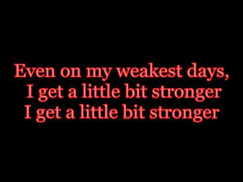 A Little Bit Stronger- Sara Evans ( with lyrics )