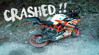 The Day I CRASHED MY KTM !!