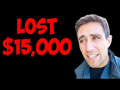 $15,000 in the Pooper. How I lost at Real Estate [and what you can learn]