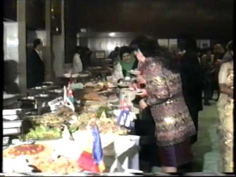 19950129 - Diplomatic Wives Association in Baghdad - International Festival