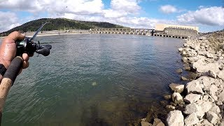 Dam Fishing With A Rooster Tail