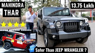 2020 Mahindra Thar - India's Safest Off-Road SUV | New Interiors, Features | Mahindra Thar 2020 4X4