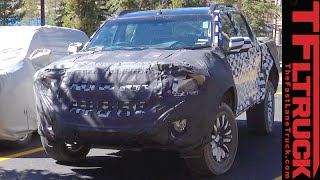 Is this the Overseas 2017 Chevy Colorado Spied in the Wild?