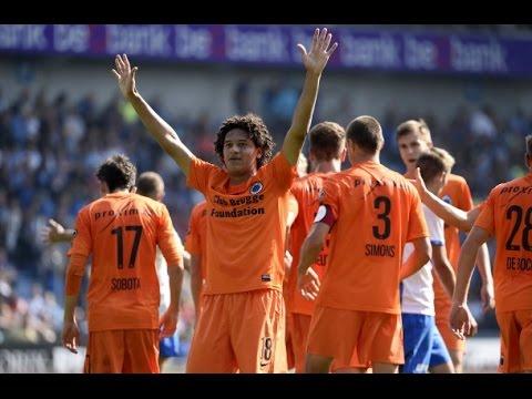 Felipe Gedoz    Goal    Lokeren vs Brugge