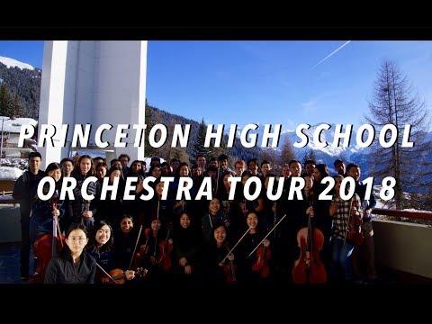 Princeton High School Orchestra 2018 Europe Tour Video