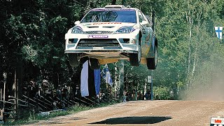 Flying High - WRC Rally Finland with pure engine sounds (years 1999-2010)