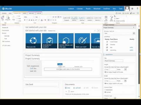 Create Your Own Project Site Template In Sharepoint