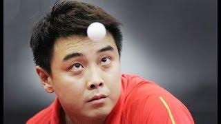 WANG HAO : The reverse penhold backhand king