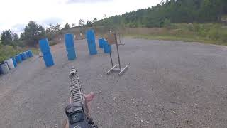9-29-18 Smith & Wesson M&P 15/22 - Kryptek Highlander Shooting Drills #1
