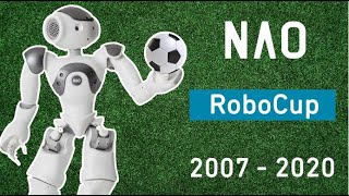 NAO evolution 2007 - 2020 at the RoboCup Soccer!