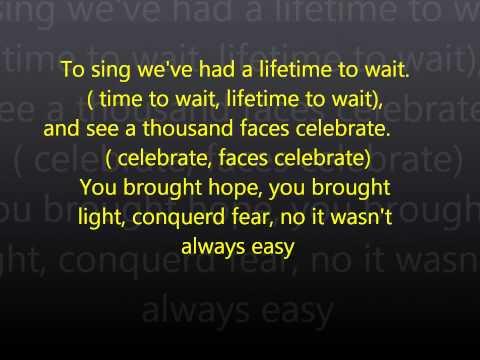 Sing lyrics by Gary Barlow