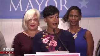 Current front-runner Keisha Lance Bottoms is speaking