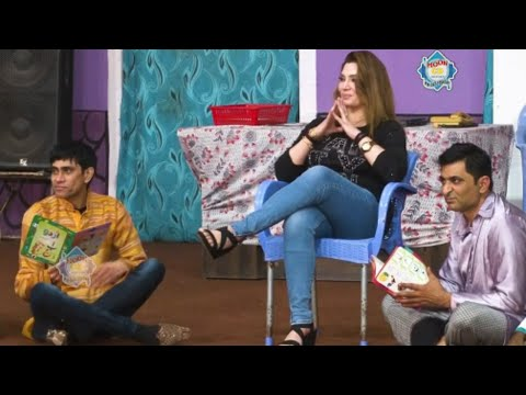 Amjad Rana and Khushboo with Goshi 2 Stage Drama Connection Pyaar Da Comedy Clip 2020
