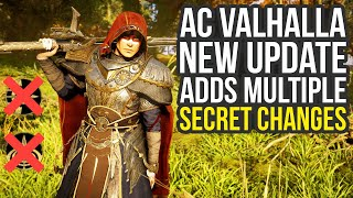 Ubisoft Added Multiple Secret Changes With Latest Assassin's Creed Valhalla Update (AC Valhalla)