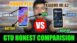 Honor Play Vs Mi A2 Honest Comparison Based On Tests, Facts and Proofs