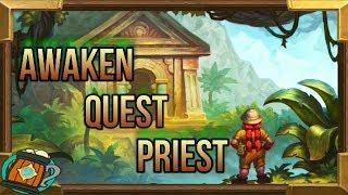 Hearthstone : Deck Tech Awakening Quest Priest Knight of The Frozen Throne