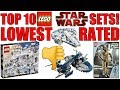 LOWEST RATED LEGO STAR WARS SETS!