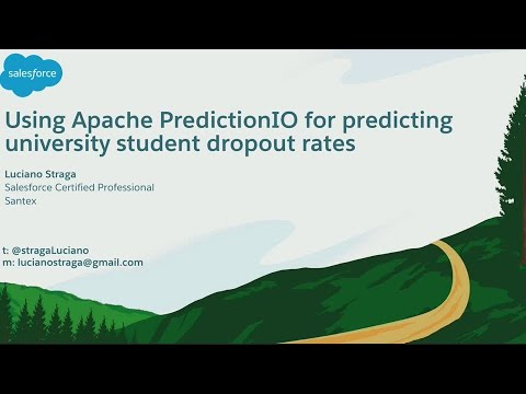 Using Apache PredictionIO for Predicting University Student Dropout Rates