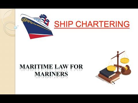 Ship Chartering // Voyage Charter // Time Charter // Bareboat charter.