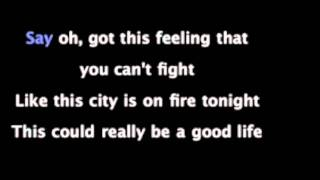 One Republic Good Life Karaoke Instrumental With Lyrics HD