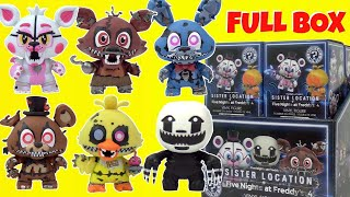 FNAF FIVE NIGHTS AT FREDDY'S Sister Location Mystery Minis Funko Pop