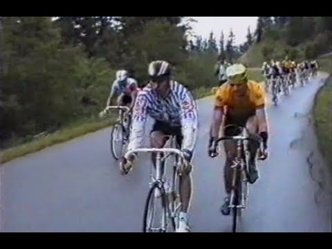 Cyclosportive l'Olympe Courchevel en 1988, Savoie, FRANCE - Trophée MAVIC