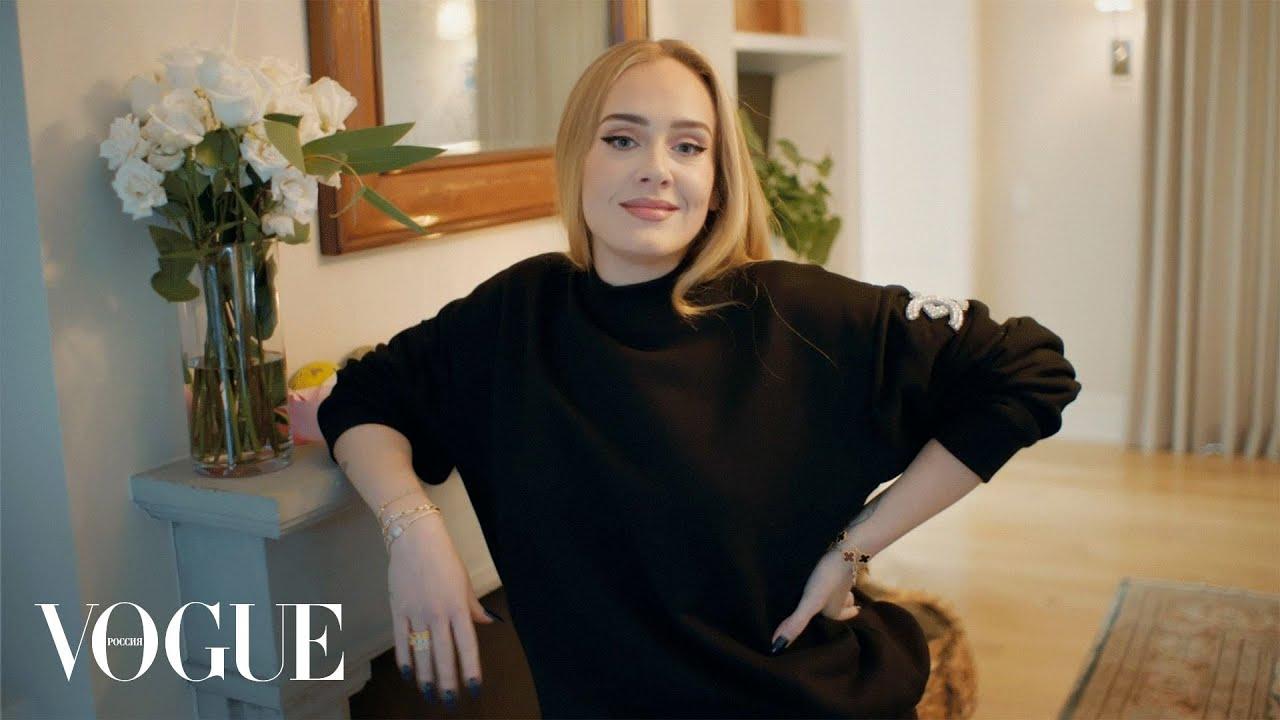 Адель отвечает на 73 вопроса  Vogue Россия