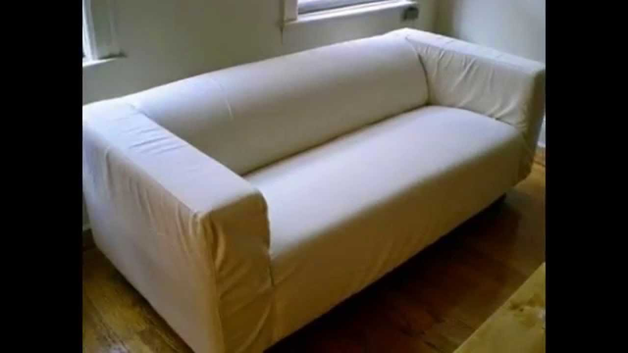 klippan loveseat form youtube. Black Bedroom Furniture Sets. Home Design Ideas