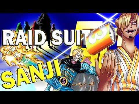 Raid Suit Sanji: Germa 66 Vinsmoke Sanji Suit Vs Page One Pre One Piece Chapter 931
