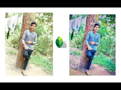 Snapseed Tutorial || Background colour changing ||
