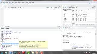 كيفية إنشاء المصفوفات في R studio