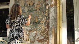 Під час ремонту фасаду в центрі Одеси випадково виявили розпис дореволюційних часів