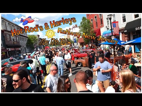 Hot Rods and Harleys 2014 Rahway New Jersey