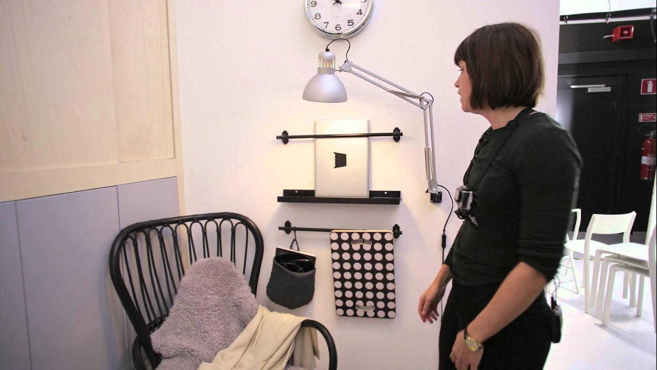 ikea kleine wohnung einrichten leicht gemacht youtube. Black Bedroom Furniture Sets. Home Design Ideas