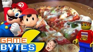Lego Mario Party Pizza!   Gamebytes