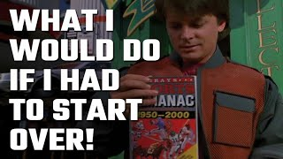 ⏱ What I would do if I had to Start Over! Here's your Sports Almanac from Back to the Future...