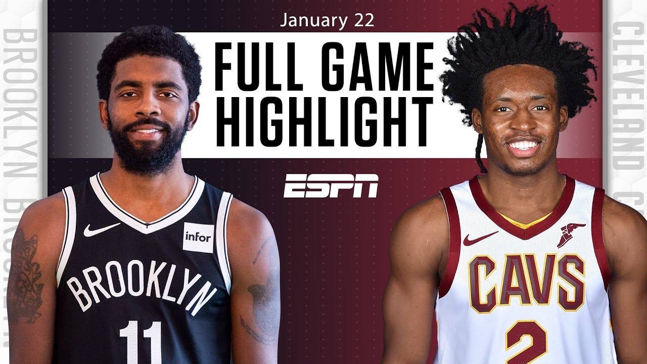 Nets vs. Cavaliers - Game Recap - January 22, 2021 - ESPN
