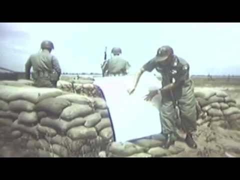 Vietnam, 1966 Tan Son Nhut Mortar Attack Aftermath & 6th Psywar Squadron Bldg. Bombing (full)