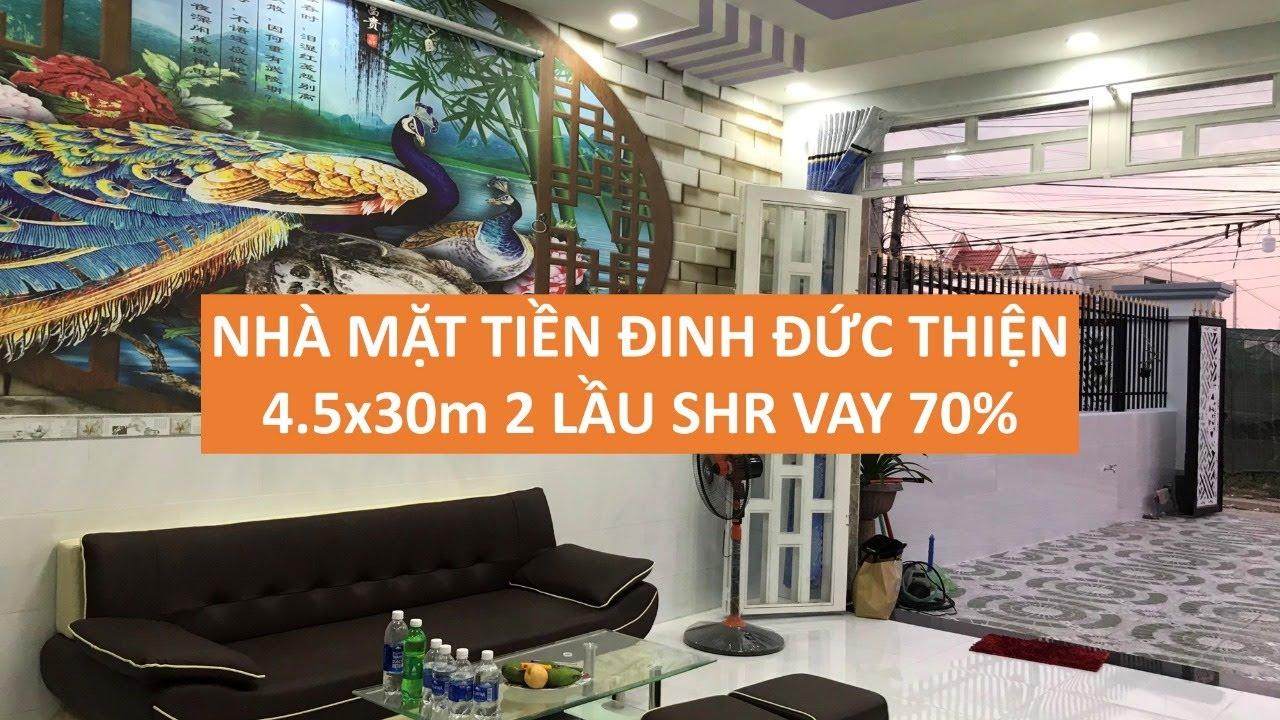 Bán nhà Mặt tiền Đinh Đức Thiện Bình Chánh 150m2  SHR chính chủ  LH 0906485209