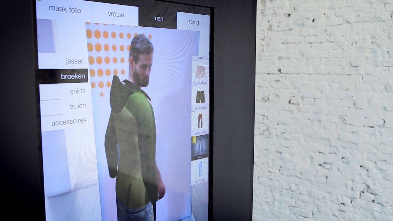 97c16e5f59b Digitaal kleding passen bij de Bijenkorf met virtuele 3D-paskamer