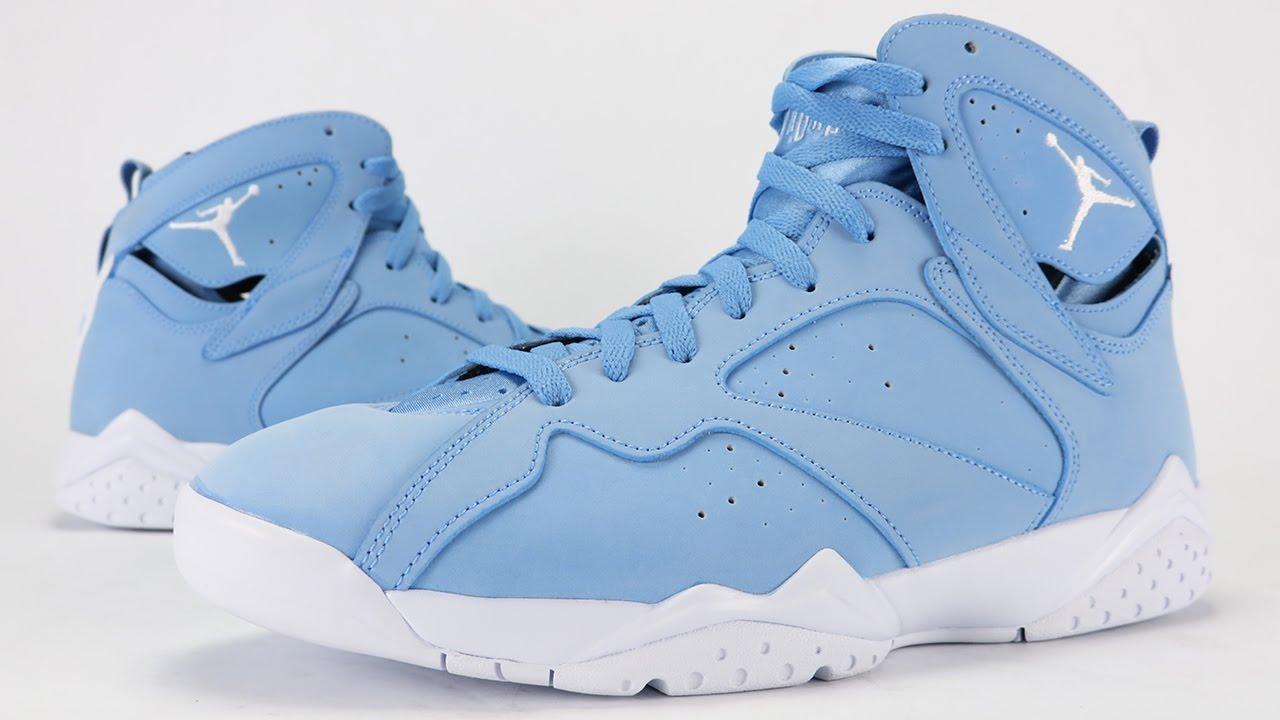 7fead93fe065 Air Jordan 7 Pantone Review + On Feet - YouTube