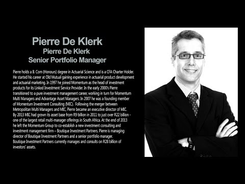 03 Optimum Investment Seminar - Pierre De Klerk
