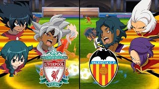 [Full HD 1080P] Inazuma Eleven UCL ~ Liverpool vs Valencia ※Pokemon Anchor※