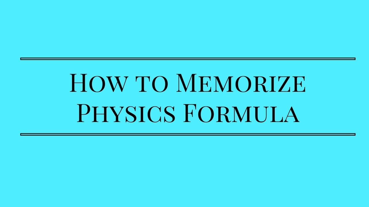 Download Physics formulas and concepts pdf