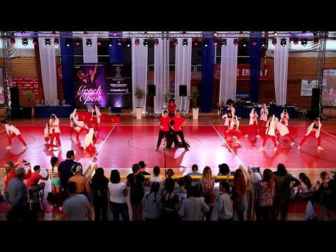 *Dance Express* -Hip-Hop- Adult First Place ***Greek Open 2017***
