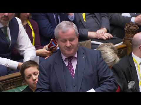 Brexit Deal Debate - Ian Blackford SNP MP's intervention
