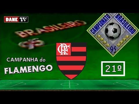 Brasileirão 1995 - campanha do Flamengo