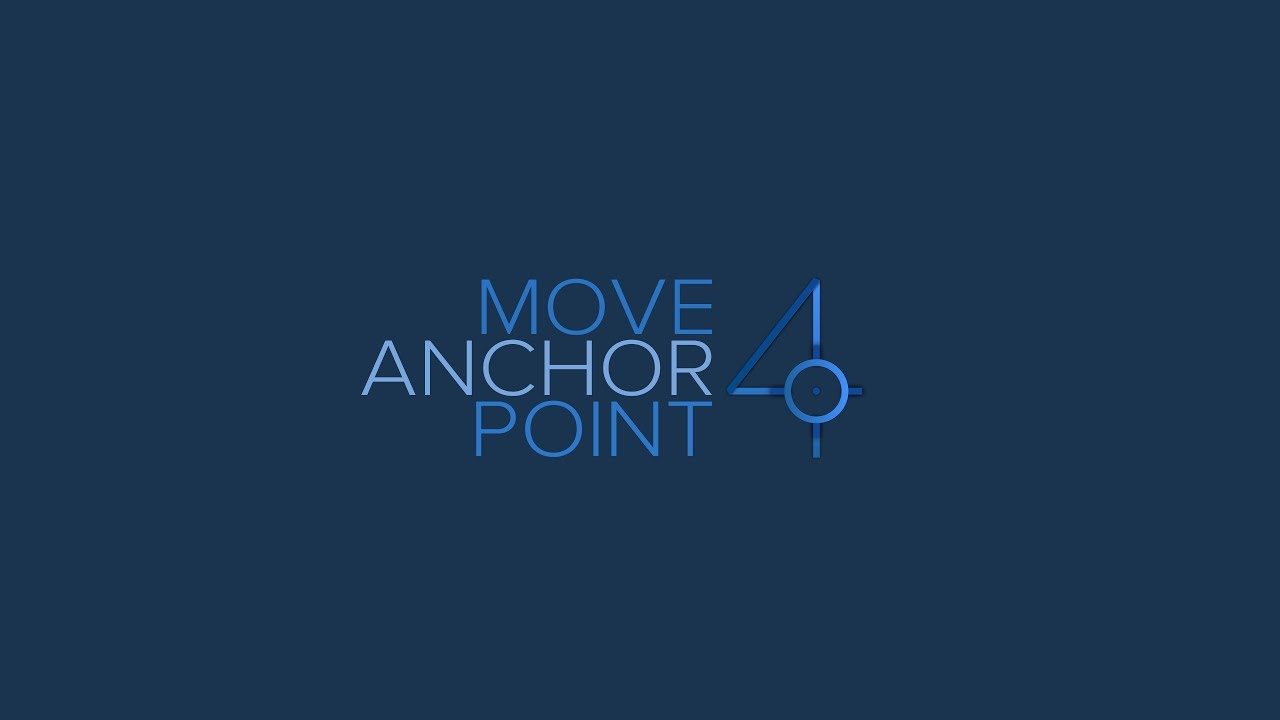 Move Anchor Point 4 | After Effects Extension